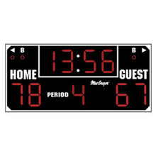 Ultimate Wallmount Indoor Scoreboard with Wireless Remote