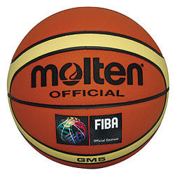 Molten BGM7 Official Size Giugiaro Synthetic Leather Basketbal