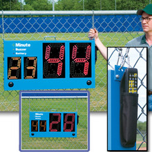 Portable LED Football Practice Drills Segment Timer