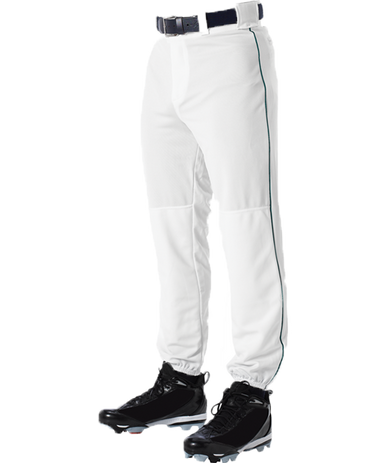 Alleson 605PLPY Youth Piped Baseball Pant