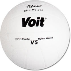 Voit V5 Rubber Cover Volleyball