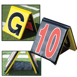 Pro-Down Day/Night Sideline Markers 5pc Set