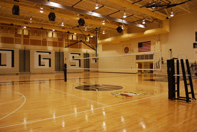Gared Sports 6100 Scholastic Telescopic Volleyball Net System