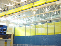 Gared Sports 4020 Fold-Up Gym Divider Curtain