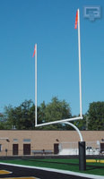 "Gared FGP Series 4.5"" O.D. College Football Goalposts"