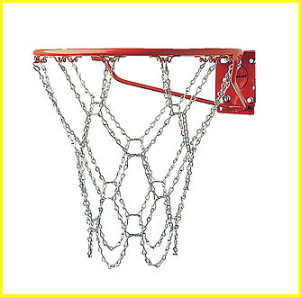 Basketball Net, Heavy-Duty Steel Chain Net, CS-410