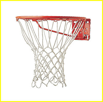 "Basketball Net, 6mm ""Pro"" Net Non-Whip, CS-416"