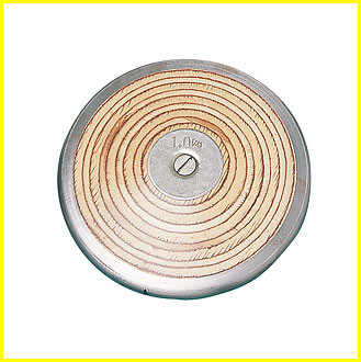 Champion Sports 1 Kilo Wood Practice Discus, CS-WD10
