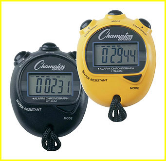 Champion Sports Big Digit Display Stop Watch, CS-920