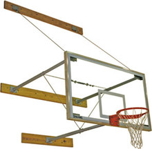 "Spalding 3-Point Wall Mount Backstop (40""-72""), AA-302-730"