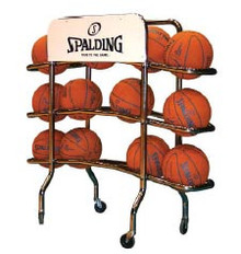 Spalding Replica Pro Ball Rack, AA-411-602