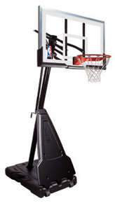 "Spalding 68564 54"" Acrylic Portable Basketball System, AA-421-197"