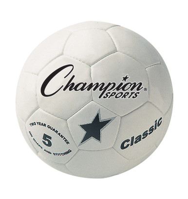 Champion Sports Classic Soccer Ball