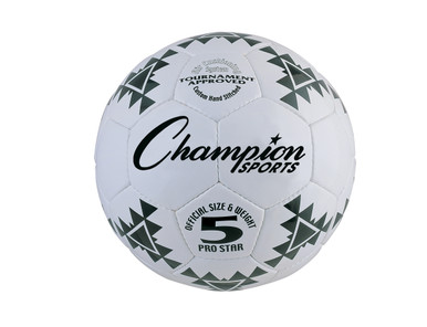 Champion Sports Pro Star Soccer Ball