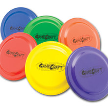 Plastic Flying Discs Set of 6