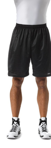 "A4 Youth Lined Tricot Mesh Shorts 6"" Inseam NB5301"