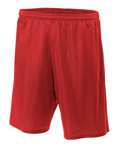 "A4 Adult 9"" Utility Mesh Shorts"