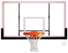 Gared Unbreakable Polycarbonate Backboard, 42 x 72