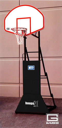 Gared Hoops 21 Portable 3-on-3 Basketball System
