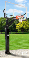 Gared All Pro Jam Adjustable Hoop System with 42 x 72 Glass