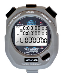 ULTRAK 496 - 500 Lap Memory Stopwatch