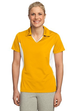 Sport-Tek Ladies Side Blocked Polo