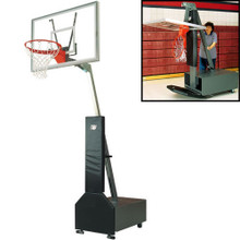 Bison Acrylic Club Court Portable Basketball System