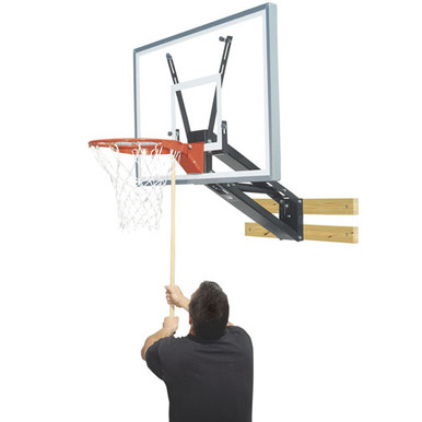 Bison  Qwik-Change™Acrylic Basketball Shooting Station