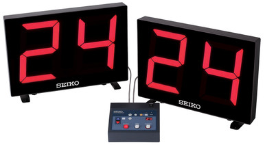 Seiko Shot Clock With LED Digits