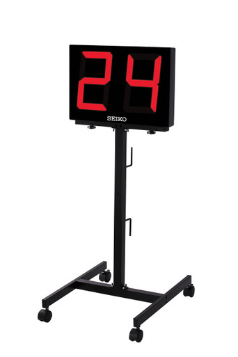 Caster Stand For Seiko Shot Clock or Scoreboard