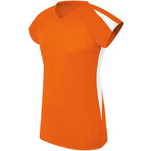 High 5 Sportswear Women's Cap Sleeve Volleyball Jersey