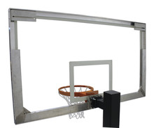 Spalding SuperGlass Basketball Backboard for Main Court Portables