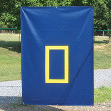 Cage Saver - 30 oz. Navy with Yellow Zone