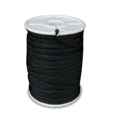Black Poly Twine 3mm 100' Spool