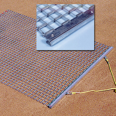 All Steel Drag Mat 3' x 4'