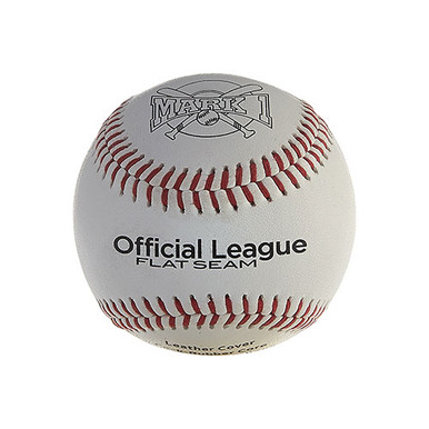 Mark 1™ Official League Flat-Seam Baseballs (12-Pack)