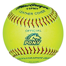 """MacGregor® Pony® Approved 11"""" Softball"""