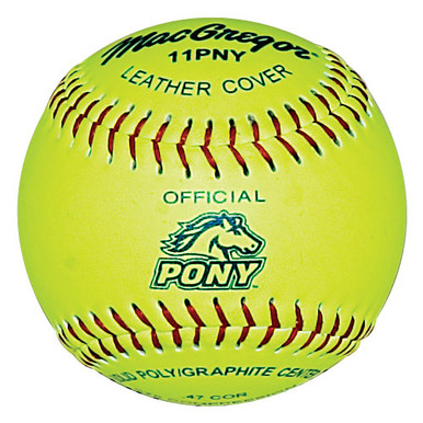 "MacGregor® Pony® Approved 11"" Softball"