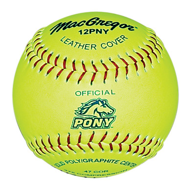 MacGregor® Pony® Approved 12'' Softball
