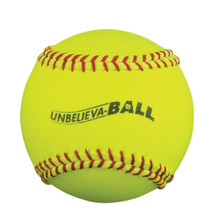 "Unbelieva-BALL 11"" Softball - Yellow"