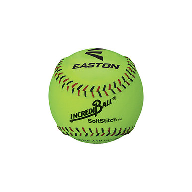 "Easton 11"" SoftStitch IncrediBall-Yellow"
