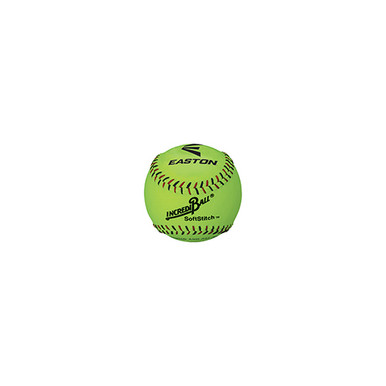 "Easton 12"" SoftStitch IncrediBall-Yellow"