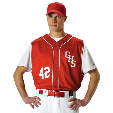Baseball Vest with Braid Adult