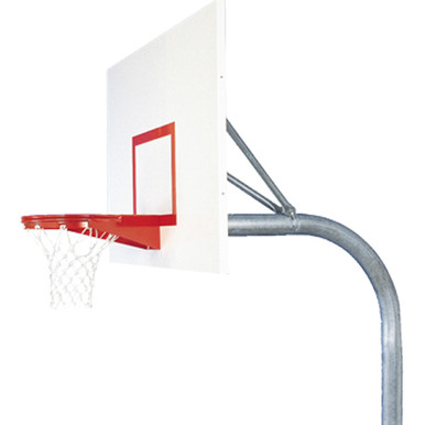 Bison Mega-Duty Steel In-Ground Basketball System