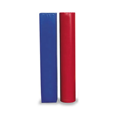 "Post Pad Fits 4-1/2""-6"" OD Post Red/Blue 1"