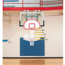 Bison Easy-Up 6-in-1 Mini Basketball Goal