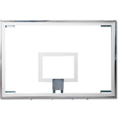 "Spalding Superglass Collegiate Basketball Backboard 48"" x 72"""