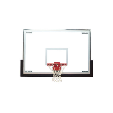 Bison Unbreakable Tall Glass Basketball Backboard Only