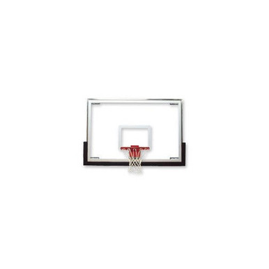 Bison Standard Short Glass Basketball Backboard