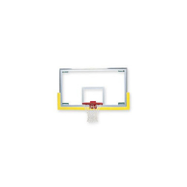 Bison Unbreakable™ Short Glass Basketball Backboard w/ Padding